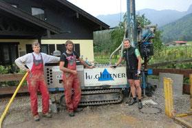 Grundwasserbohrung Haus Andi Birnbacher