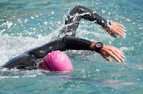 Energy-Boost beim Schwimmen