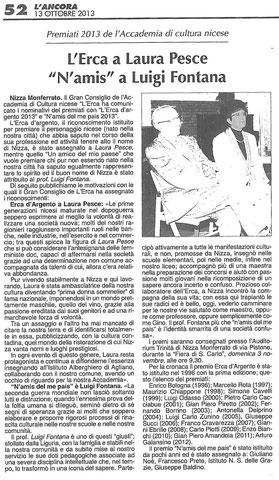 Articolo dell'11-10-2013