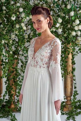 Jour de Fête Mariage Rodez collection robe de mariée Selestia