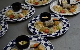 Bei Trank darf auch Speis nicht fehlen - diesmal mit japanischer Note