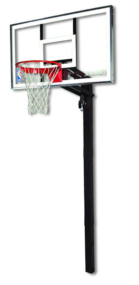 "Spalding In-ground Basketball Goal 54"" Glass"