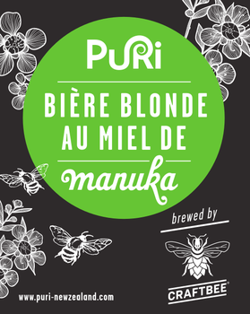 Puri Bière Blonde au Miel de Manuka