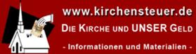 Kirchensteuer Kirchen Geld Finanzierung Informationen Infos Logo