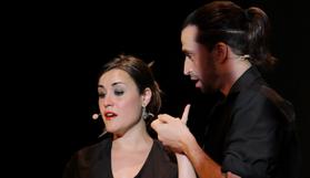 """La soprano, Eulàlia Fantova y el barítono, Joan García Gomà // """"Free Bach 212"""""""