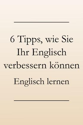 Englisch Sprachkenntnisse verbessern, Sprachverständnis stärken. Englisch lernen #englischlernen