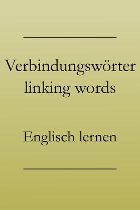 Englische Verbindungswörter, besser Englisch sprechen: obwohl, jedoch, folglich