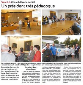 La Presse de la Manche, 21/09/2016