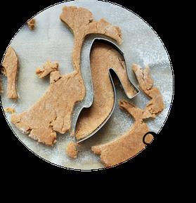 Bild: Ob Kekse, Plätzchen oder Cookies - mit diesem Rezept für Mürbeteig Kekse und Fondant backst Du schnell besondere Kekse für jeden Anlass, von Partystories.de