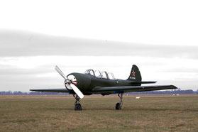 Unsere Kunsflugmaschine Jak 52-Sturm