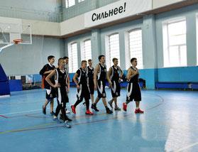 Выборгские баскетболисты