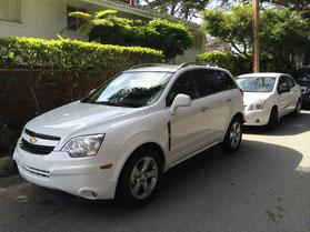 Mietwagen während der Rundreise - Chevrolet Captiva