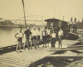 Unsere Pritsche in den 1920er Jahren