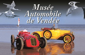 Le musée automobile de Vendée, partenaire des hébergeurs Sud-Vendée Vacances