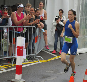 Nicole Klingler überzeugt in der Laufdisziplin
