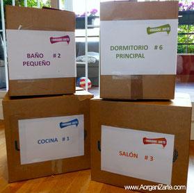 cajas de mudanzas con carteles - www.AorganiZarte.com