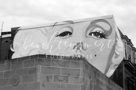 beachtenswert fotografie, New York, Marilyn Monroe, Streetart, Building, Graffiti