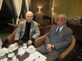 左:田村千尋氏 右:渡部與四郎氏