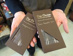 Edle Tafeln von DaJa Chocolate. Foto: C. Schumann
