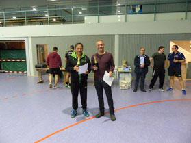 Hans Meier (links) und Matthias Ranzow sind in der Trostrunde erfolgreich!