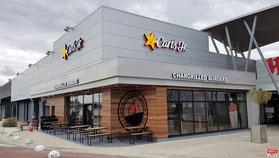 Le Carl's Jr de Vélizy-Villacoublay ouvre le 09.09.2020.