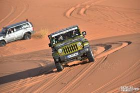 La Team 118 en action dans les dunes de l'erg Chebbi - GAM 2019