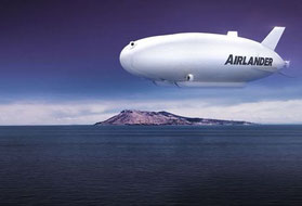 "The ""Airlander"" named airship is on the drawing boards of UK's Hybrid Air Vehicles  /  source: company courtesy"
