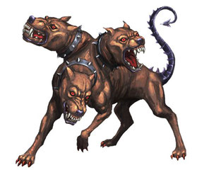 Hellhound Cerberus: from a guard of the entrance to the Greek underworld to a modern capital manager