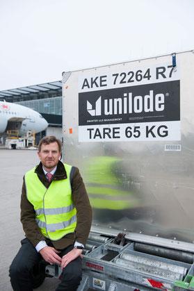 Benoît Dumont has taken the Unilode chair in September 2017, succeeding Ludwig Bertsch – company courtesy