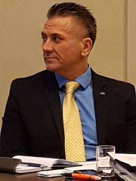 Dimitrios 'Jimmy' Nares, Section Chief Aviation Marketing of the Miami-Dade Aviation Department (ms)