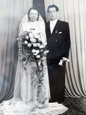 Hochzeit Maria und Werner Pister im Jahre 1951