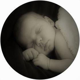 Kinder können schlafen lernen