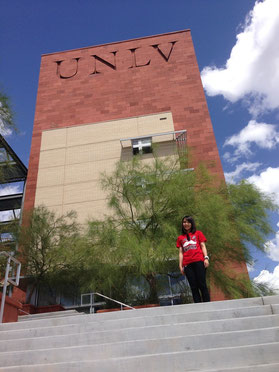 UNLVへの編入学が決まりました。