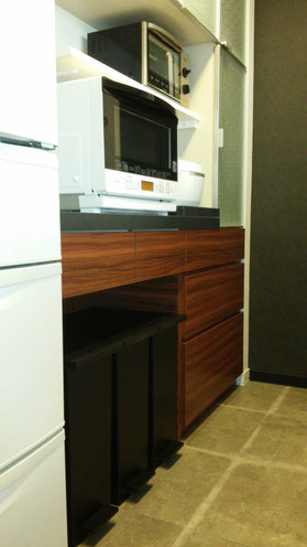 キッチン収納 カップボード キッチン家電 使いやすい