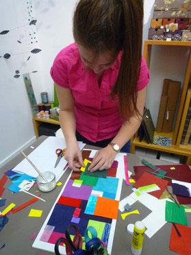 Atelier artistique en famille à Grenoble