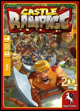 Castle Rampage von Pegasus Spiele als Neuheit der SPIEL'18