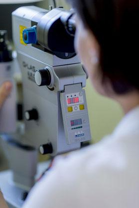 Augenarztpraxis Wundsam  | Yag-Laser