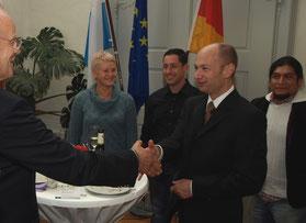 Einbürgerungsfeier im Landratsamt Lindau
