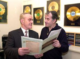 Karel Belohoubek  und Walter Schwanzer