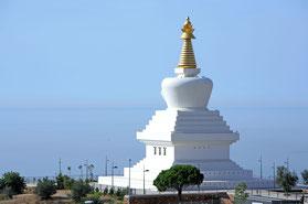 El estupa de Benalmádena. Foto ©: budismo-málaga.org