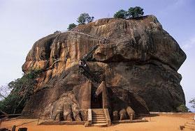 La ciudadela de Sigiriya. Foto (CC): S.G. Seyone/ Wikipedia.