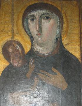 Икона Мадонны с младенцем в Риме 5 века, фото