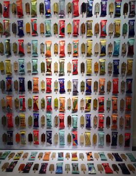 Abwasser-Popsicles, Ausstellung