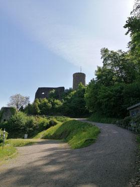 Schwarzwald | Hausacher Bergsteig | Hausacher Burg