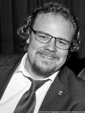 David Stroop, Gewerkschaftssekretär IG BCE Bezirk GE