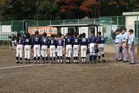 バーズ旗争奪少年野球大会 試合後挨拶