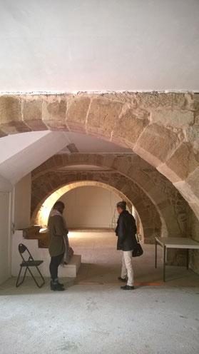 """""""Salle des Bergers """" lieu d'exposition """"Prieuré St Michel de Grandmont """""""