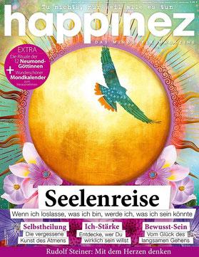 Happinez Seelenreise - Magazin Happinez
