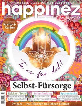 Happinez Selbst-Fürsorge - Magazin Happinez