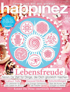 Happinez Magazin Lebensfreude